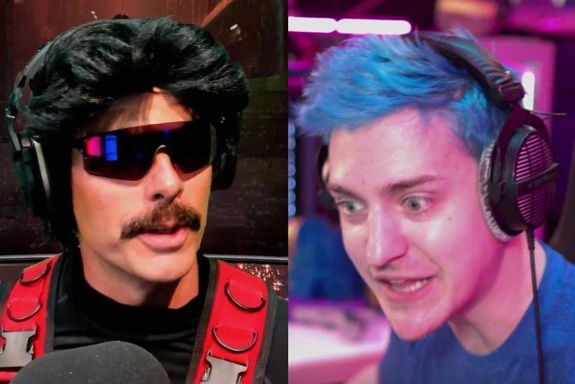 Ninja arvab, et Dr Disrespect teab tegelikku põhjust, mis mehele Twitch.tv eetrikeelu kaela tõi