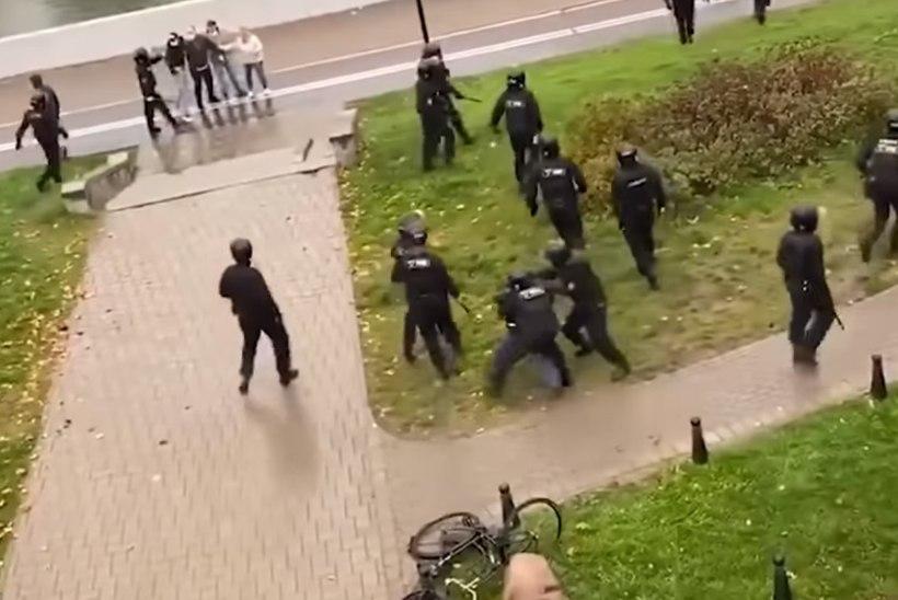 """VIDEO   Valgevene politsei andis laskesuusastaari vennale armutult kolki: """"Arvasin, et olen pime."""""""