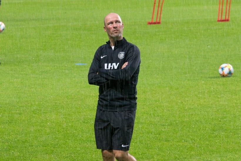 Jalgpallikoondise peatreener: Makedoonia mängu järel oli bussis haudvaikus, aga nüüd oleme taas heas rütmis