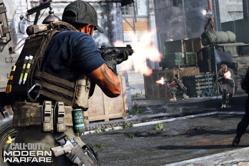 """RÕÕMUSÕNUM! """"Call of Duty: Modern Warfare"""" vabastab PC-mängurite kettad pantvangist"""