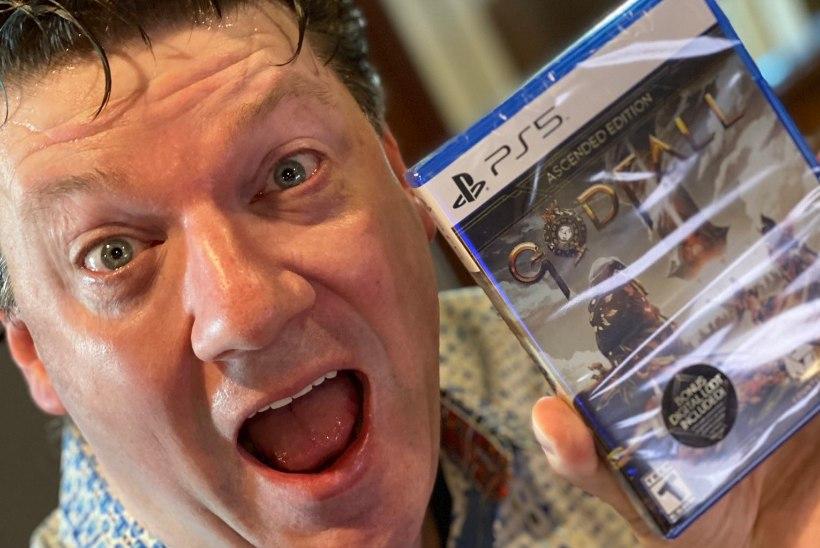 KLÕPS! Randy Pitchford demonstreerib, millised näevad välja PlayStation 5 mängude karbid päris elus