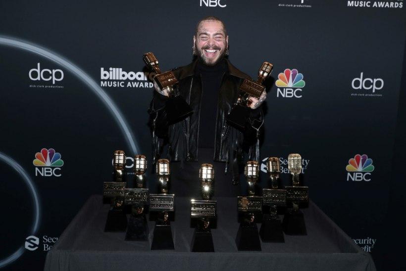 TRIUMF: Post Malone võitis üheksa Billboardi auhinda