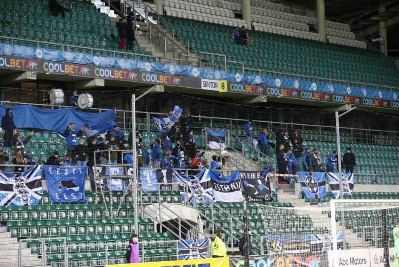 Pohlaku lahkumist nõudnud fänniplagu ei lubatud staadionile