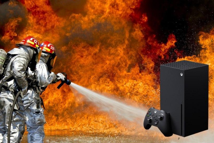 TESTITUD! Kas näpud saavad kõrvetada ehk kui kuumaks Xbox Series X tegelikult läheb?
