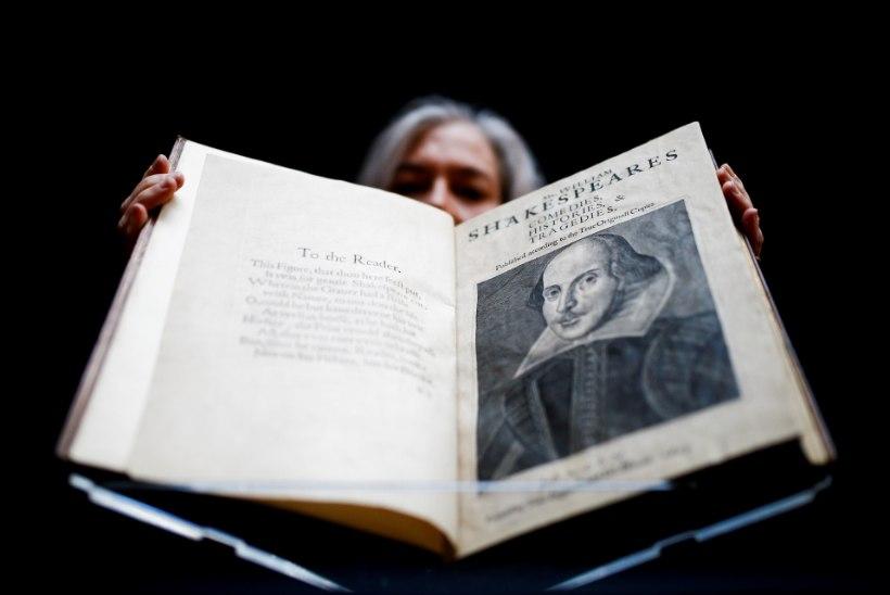 Shakespeare'i näidendikogu müüdi ligi kümne miljoni dollariga