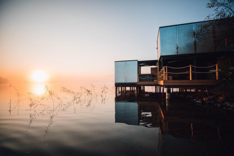 Eestlaste loodud peegelmajad vallutavad maailma: maju on rajatud nii Ghana kalurikülla kui kaljunukile Norras