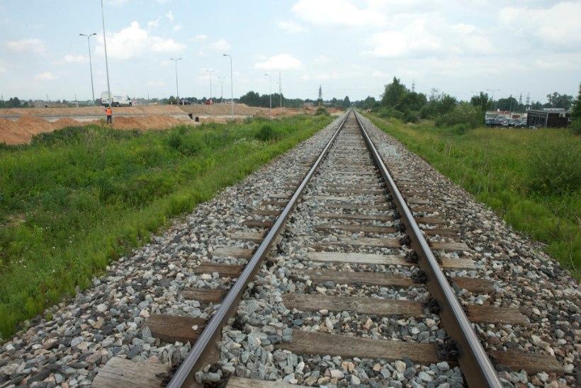 Ekspertide sõnul tuleks Tallinna-Tartu raudtee laugemaks ehitada