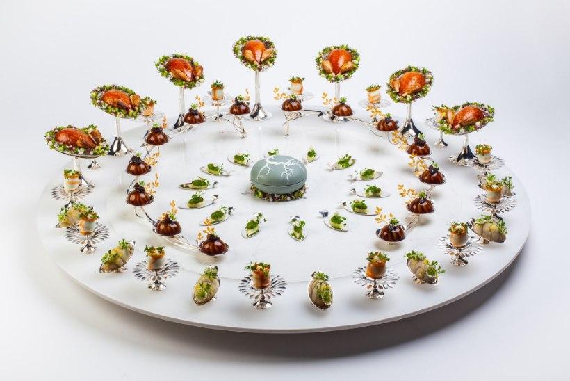 GALERII | SÖÖ SILMADEGA: vaata, kui kaunilt maailma tipptasemel kokad Bocuse d'Ori toitu oskavad serveerida!