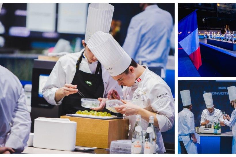 GALERII | TIPPKLASSI KOKANDUS: vaata, kuidas Bocuse d'Ori teisel võistluspäeval kokad pingutavad!