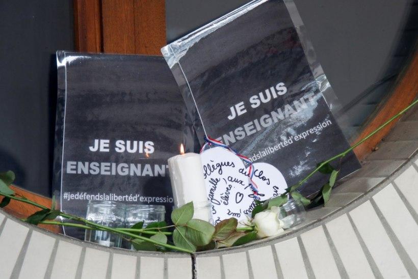 Prantsusmaal raiuti pea maha õpetajal, kes näitas tunnis lastele karikatuure prohvet Muhamedist