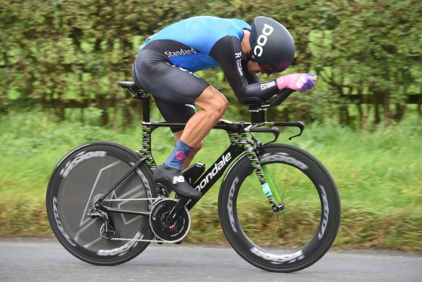Kangert vuras Giro temposõidul seitsmendaks