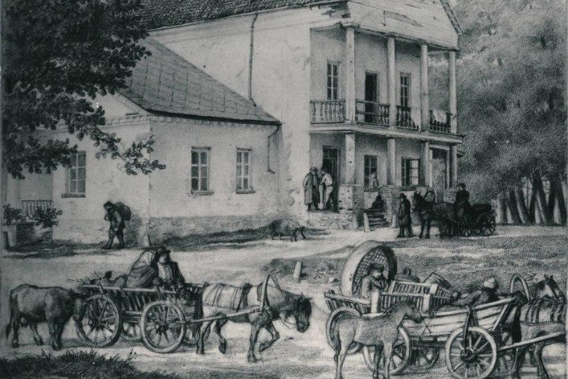 HALENALJAKAS NÄÄKLEMINE TUDENGITE KÕLBLUSE ÜMBER: Tartus keelati pooleks sajandiks teater