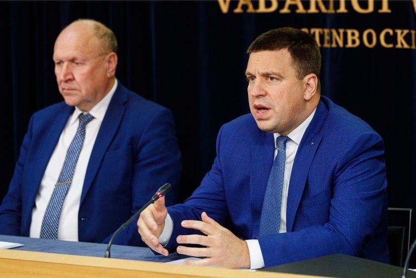 Ratas: Mart Helme väljaütlemised halvendavad koalitsiooni tervist tugevalt