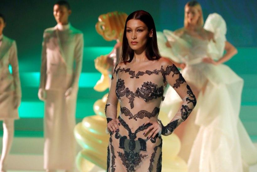 Supermodell Bella Hadid semmib Jack Nicholsoni lapselapsega?