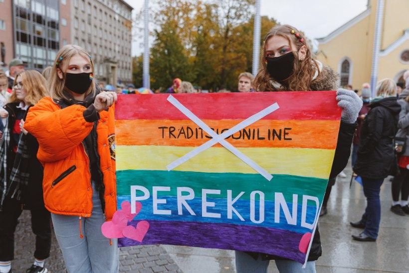 ÕL VIDEO JA GALERII   Vabaduse väljakul toimus Heameeleavaldus Kõigi Õigus Abielule