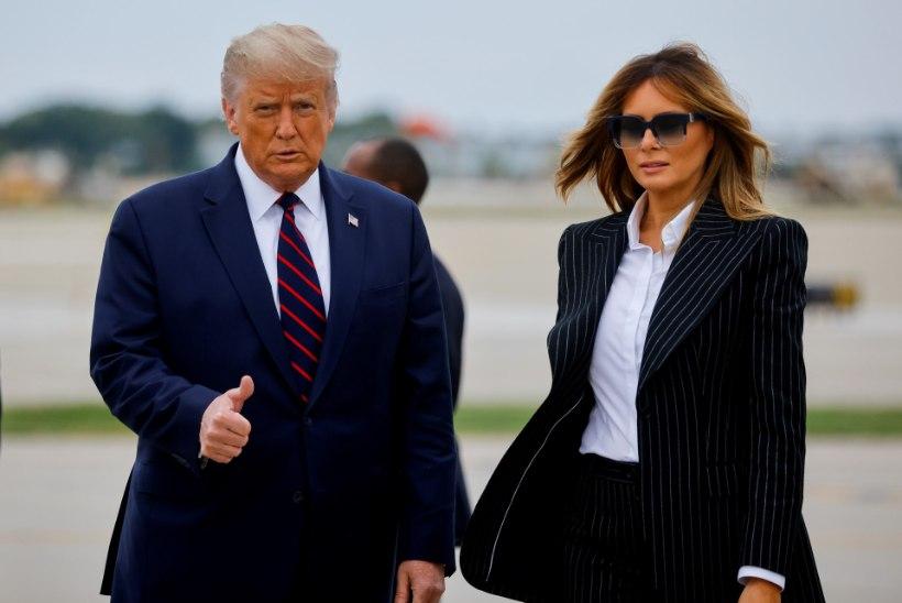 Donald ja Melania Trump nakatusid koroonaviirusega