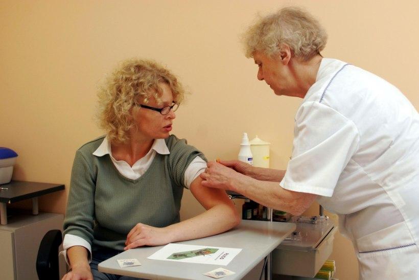 Apteegid hoiavad gripivaktsiine kiivalt endale ega müü perearstidele, kes vaktsineerivad odavamalt