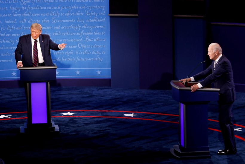 Viimasel Trumpi ja Bideni debatil on võimalik presidendikandidaatide mikrofonid vaigistada