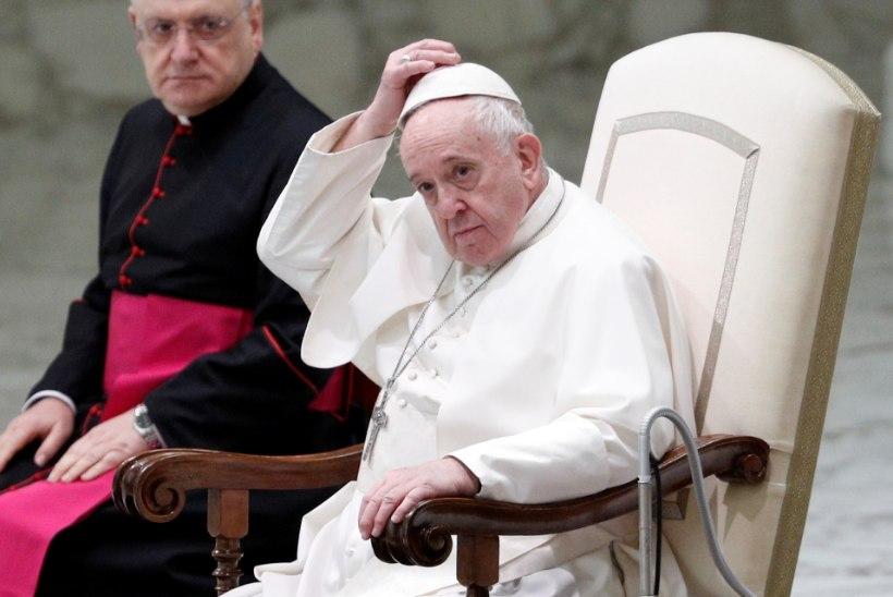 Paavst Franciscus toetab kooseluseadust?