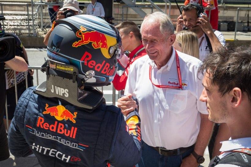 Red Bulli noortetiimi juht: Jüri Vips võib jõuda lähiajal vormel 1