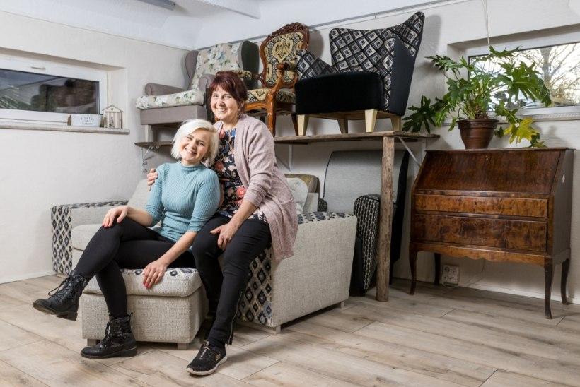 Koroona andis tõuke ema ja tütre ühisele mööbliärile: aeg stardiks oli õige ja tööd jätkub