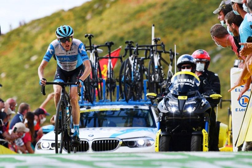 HEA TÖÖ! Mihkel Räim aitas tiimikaaslase Vuelta etapivõiduni