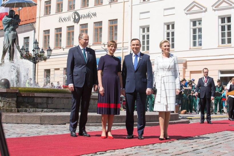 Eestit külastanud Poola president andis positiivse koroonaproovi, temaga puutus kokku ka president Kersti Kaljulaid