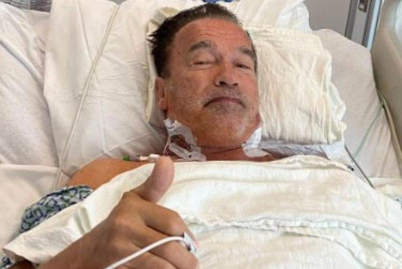 MIS JUHTUS? Schwarzeneggerile tehti kahe aasta jooksul juba teine südamelõikus