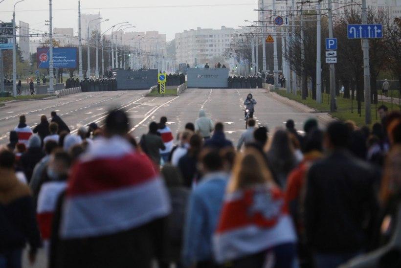 Valgevenelaste protest ei vaibu