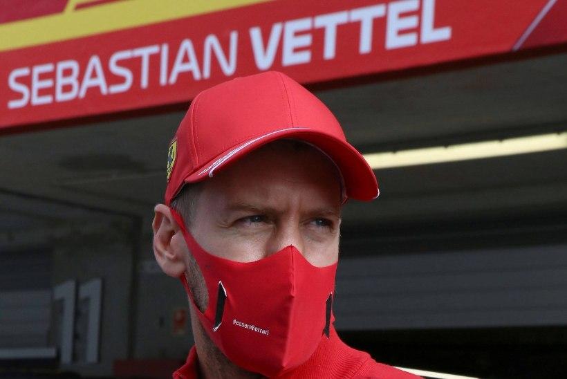 Sebastian Vetteli raju vandenõuteooria: Ferrari teine auto on palju kiirem, ainult idioot ei saa sellest aru