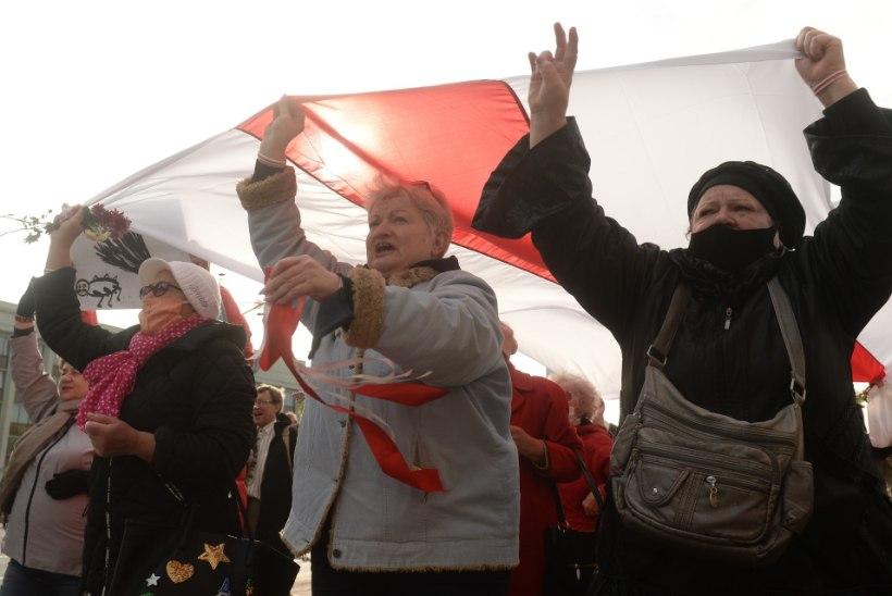 TÄHTAEG KUKKUS: Valgevene töölised asusid streikima