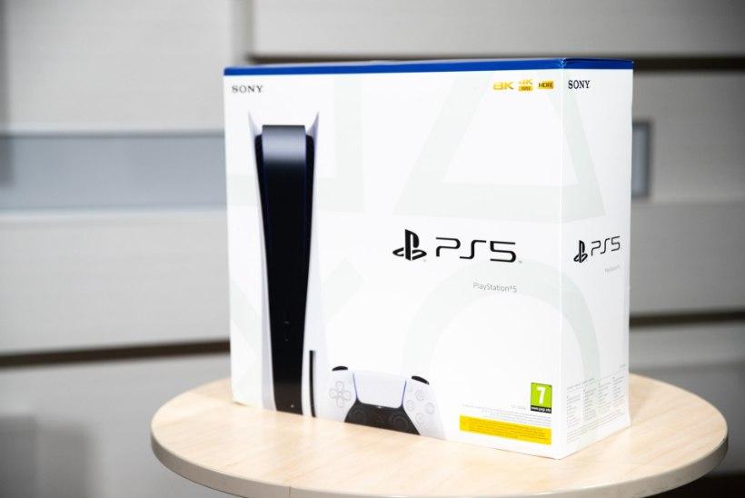 ÕL VIDEO JA FOTOD | Võtame PlayStation 5 karbist välja ja uurime, kui suur on see tegelikult