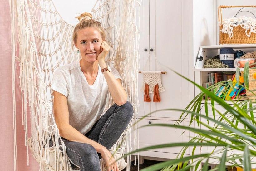 FOTOLUGU | Makrameemeistri kodu Kadriorus, kus minimalismi kõrval leidub ka isikupära