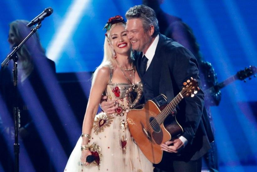 Gwen Stefani ja Blake Shelton kihlusid!