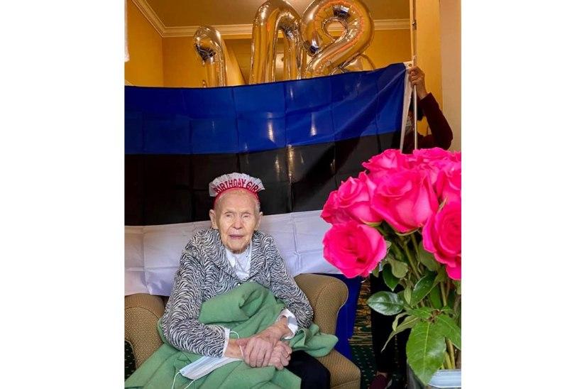 Suri maailma vanim eestlane, kes tähistas oktoobris 108. sünnipäeva