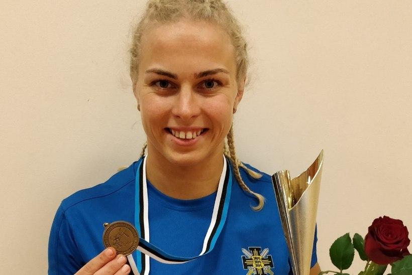 Eesti meistrivõistlustel jõutõstmises osales rekordarv naisi