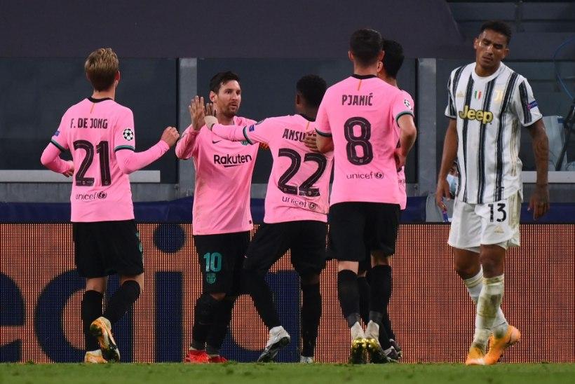 MEISTRITE LIIGA | Barcelona seljatas Juventuse, Manchester United purustas möödunud aasta poolfinalisti