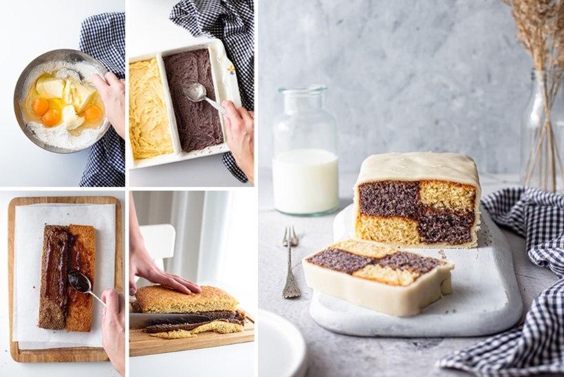 SAMM-SAMMULT   Battenbergi kook – nagu maitsev malelaud