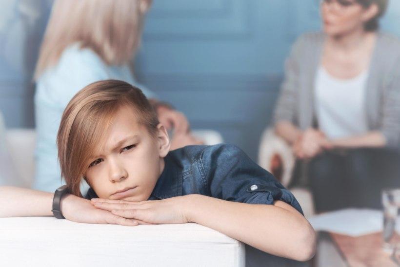 KÕHUVALU, VÄSIMUS, PAHA OLLA: lapse mure taga on sageli hoopis hingehäda