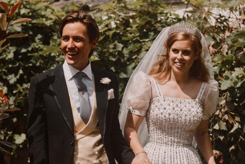 Prints Andrew' eksnaine jagab seninägemata klõpsu tütre pulmadest