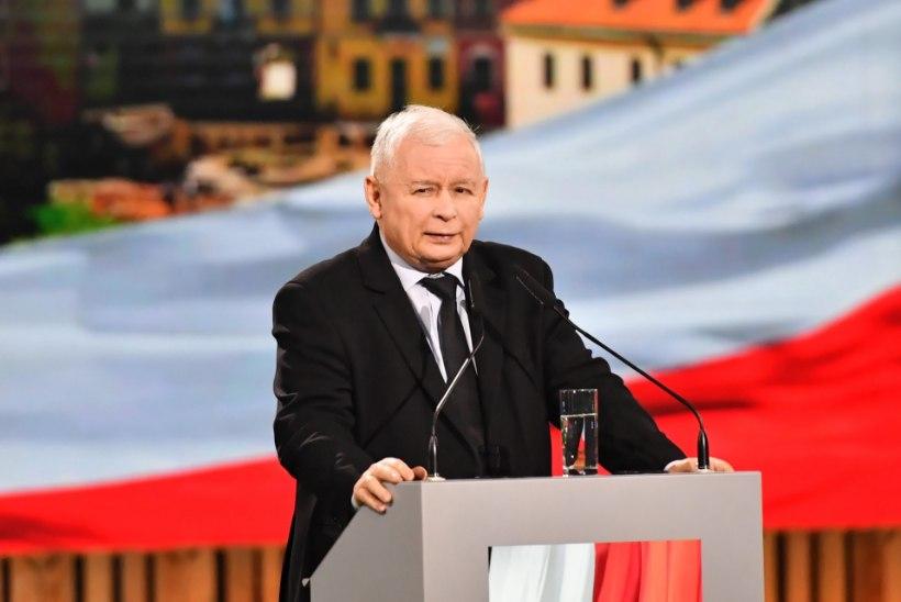 Poola valitseva partei juht: abordiseaduse tõttu puhkenud protestide eesmärk on riik hävitada!