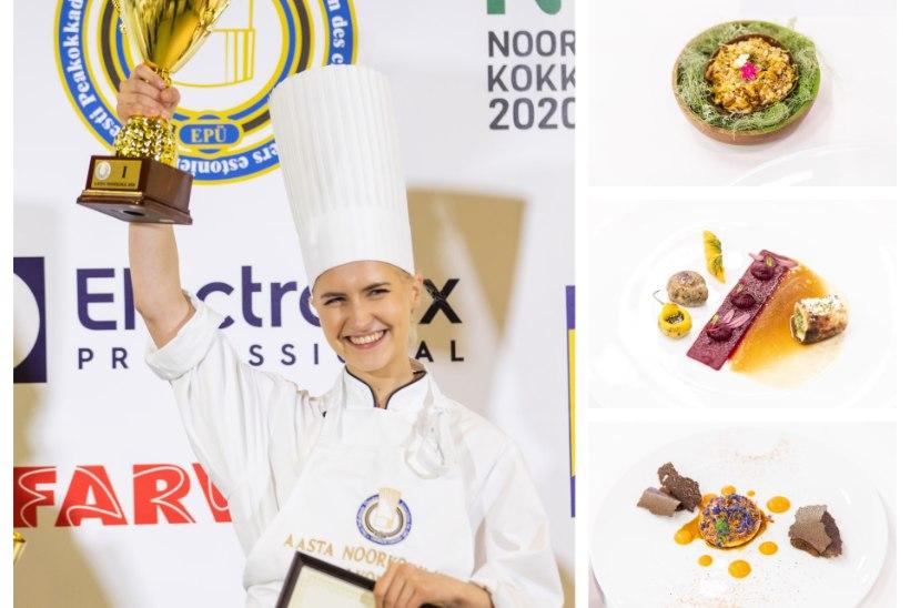 AASTA NOORKOKK | Carina-Elisabeth Hade Tartu kutsehariduskeskusest võlus paigas maitsetega