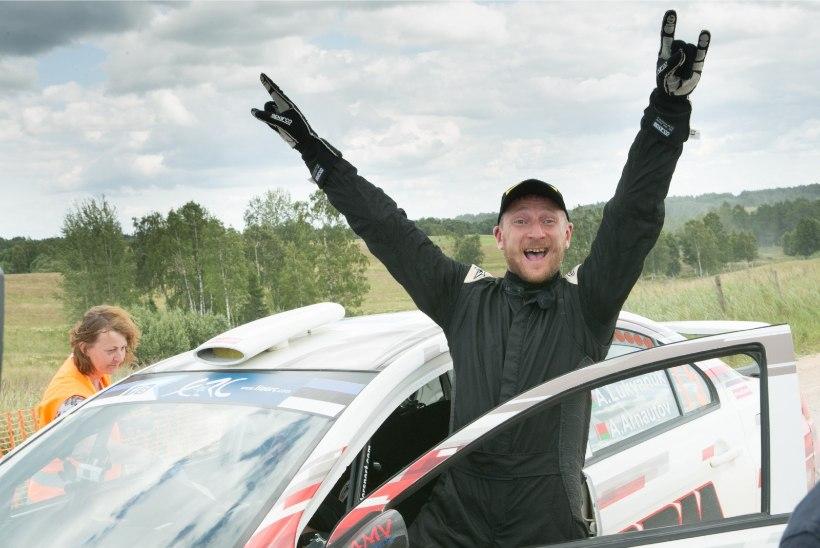 Torn võitis avapäeval oma klassis neli kiiruskatset, rallit juhib endine Eesti meister
