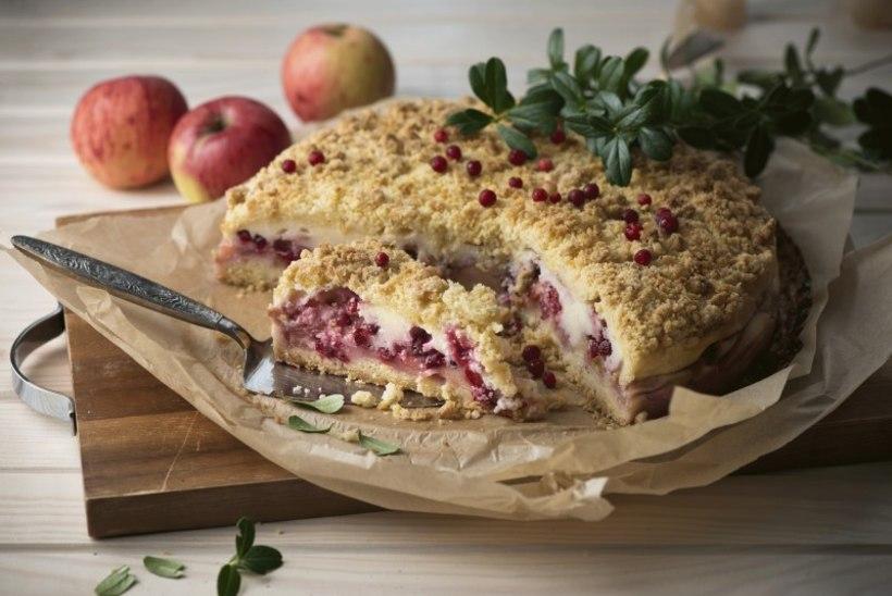 NÄDALA KOOK   Õuna-pohla-kohupiima purukook – klassika, mida ikka ja jälle küpsetada