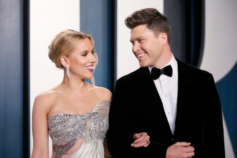 Scarlett Johansson abiellus kolmandat korda