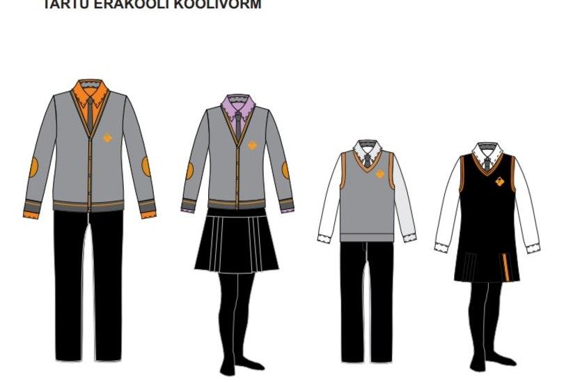 Pihikud, vestid ja teklid ehk Kogu tõde koolivormist
