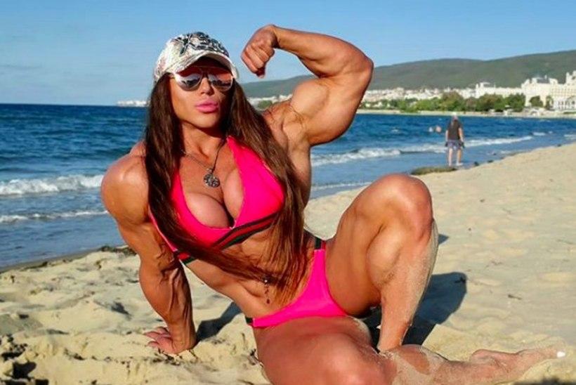 """Maailma suurimate musklitega naine läks kasvuhormooniga liiale? """"Olen oma tervise pärast mures."""""""