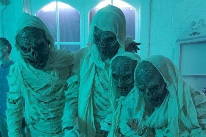 Heidi Klum tegi halloween'i puhul perekondliku õudusfilmi