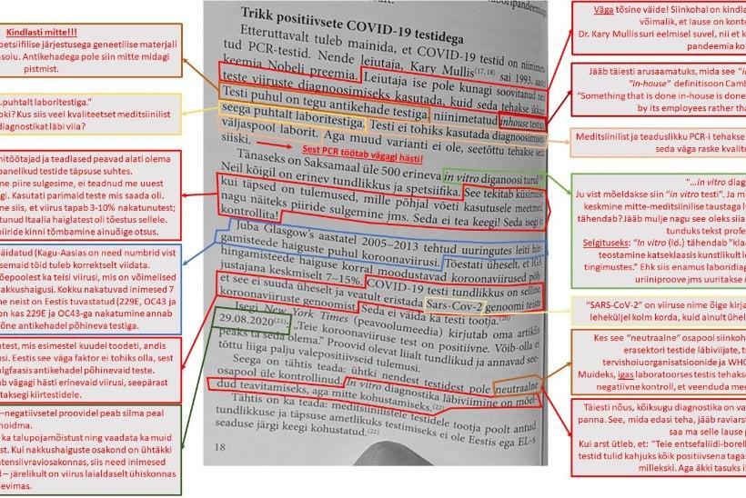Teadlaste vaenatud koroonaraamat jääb lettidele. Rahva Raamat: seni kuni pole ametlikult tõestatud, et see on pseudoteaduslik, me hinnanguid ei anna