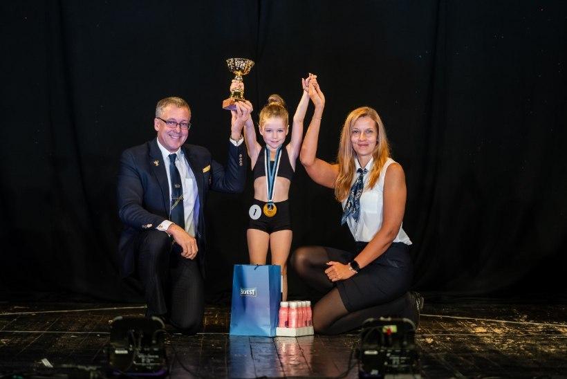 Laste fitnessi Eesti meistrivõistlustel hiilgasid Endla Vaheri kasvandikud